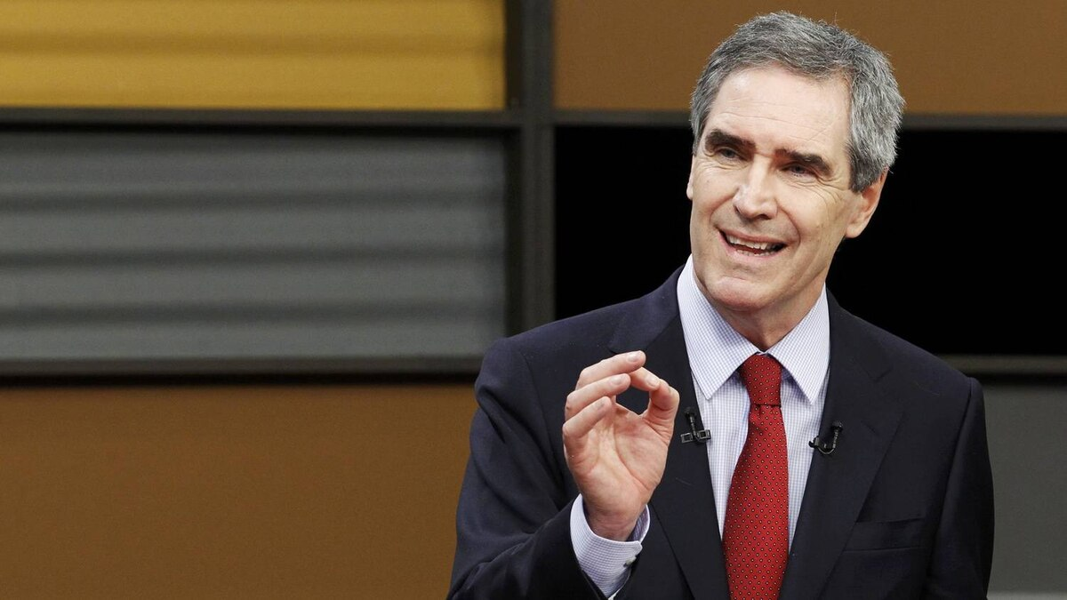 Liberal leader Michael Ignatieff takes part in the English leaders' debate in Ottawa, April 12, 2011. Canadians will head to the polls in a federal election on May 2.