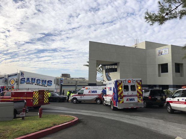 At least two people dead after shooting at high school in Santa Clarita, Calif.
