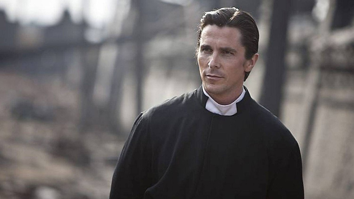 Christian Bale in The Flowers of War