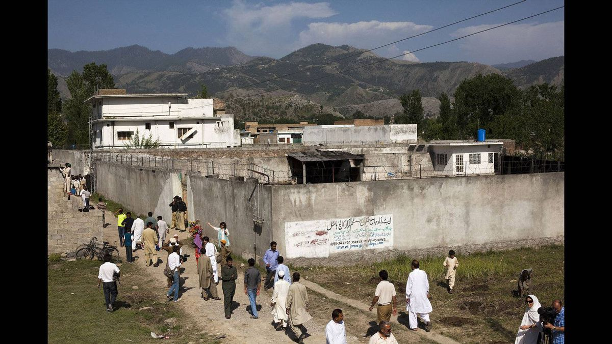 A photo tour inside and around bin Laden's compound - The ...