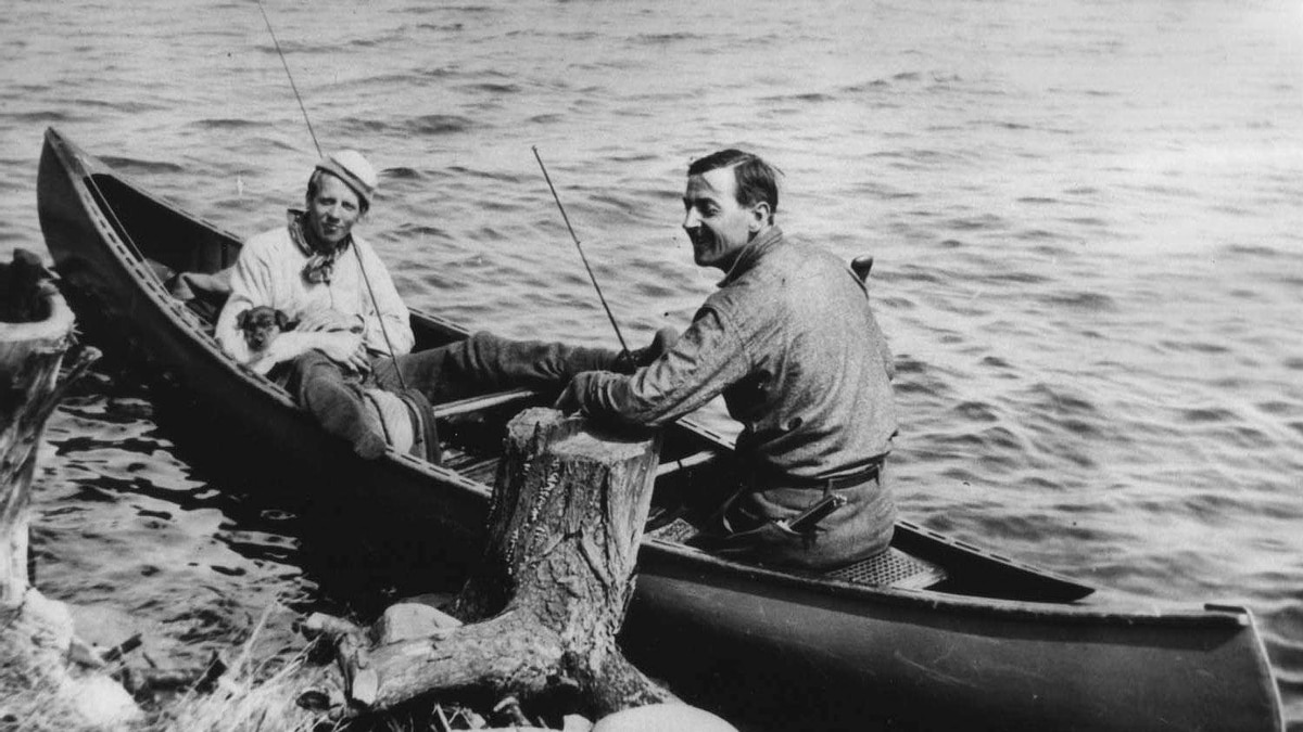 Tom Thomson and Arthur Lismer, Smoke Lake.