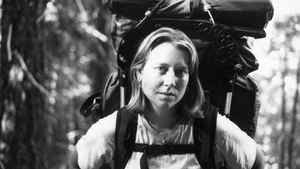 Cheryl Strayed on the trail