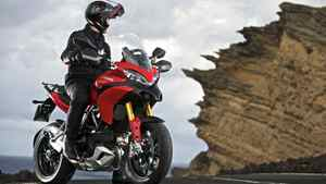 The Multistrada 1200 S Touring