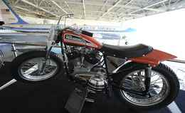 """A picture shows a 1970 Harley-Davidson """""""