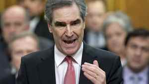 Liberal Leader Michael Ignatieff speaks during Question Period in the House of Commons on March 2, 2011.