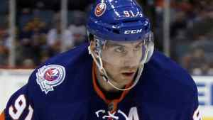 The New York Islanders and centre John Tavares face the Boston Bruins on Monday. Debby Wong-US PRESSWIRE