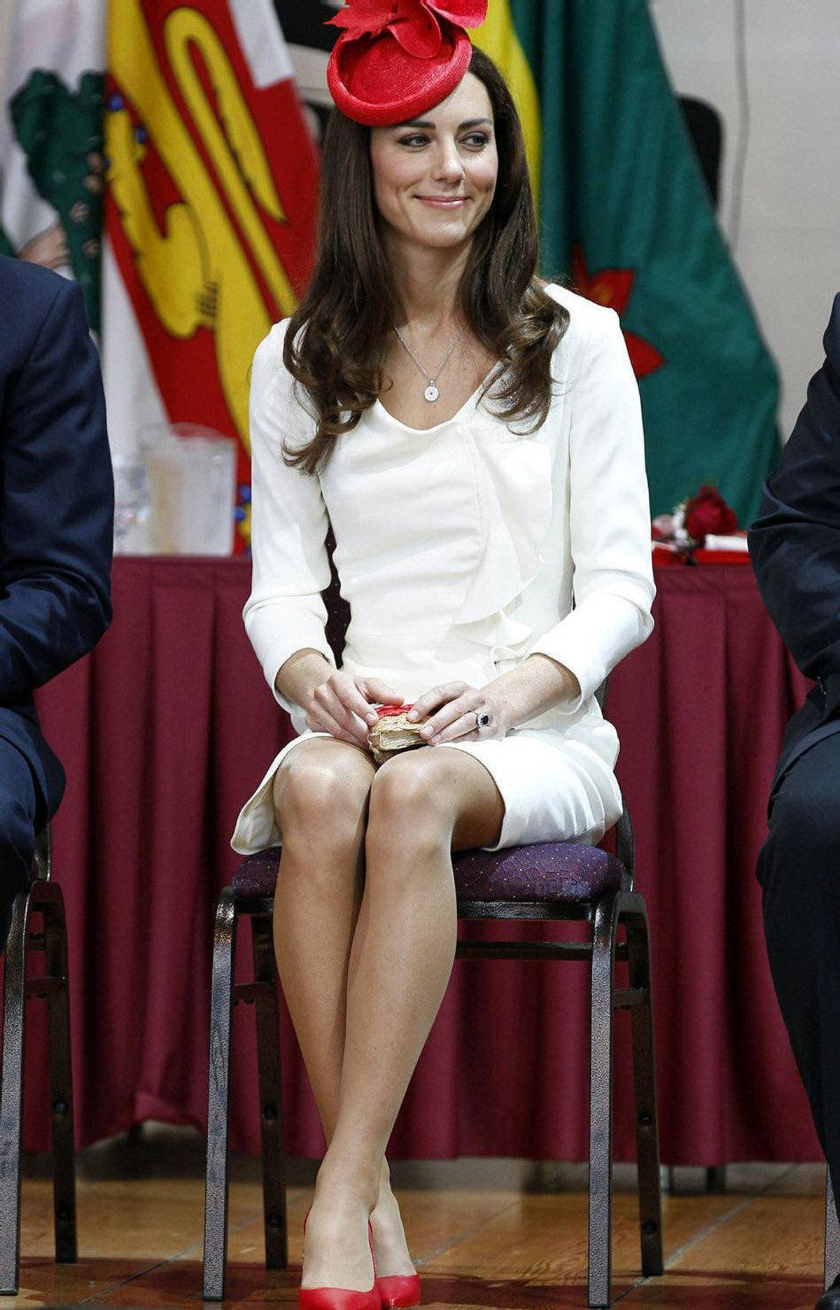 Catherine Middleton, the Duchess of Cambridge, attends a citizenship ceremony at the Canadian Museum of Civilization in Hull, Quebec near Ottawa July 1, 2011.