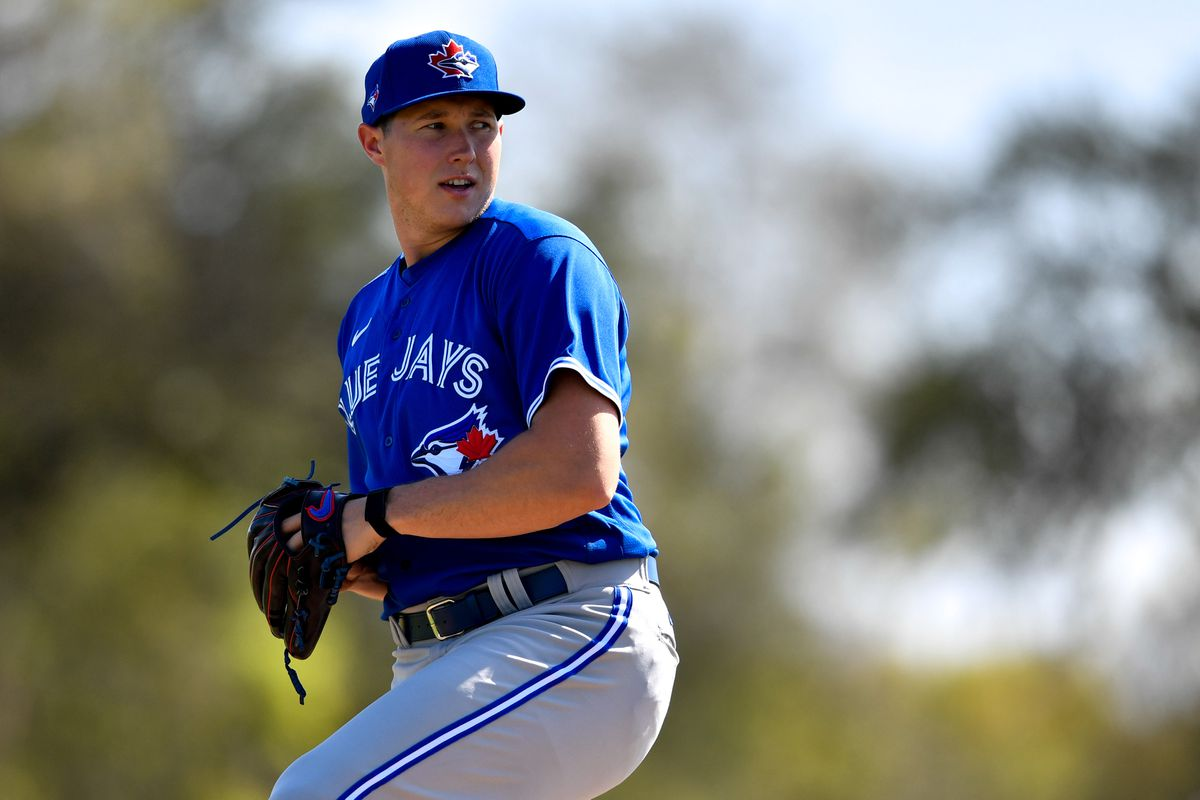 Blue Jays top prospect Nate Pearson feeling comfortable at first big-league camp