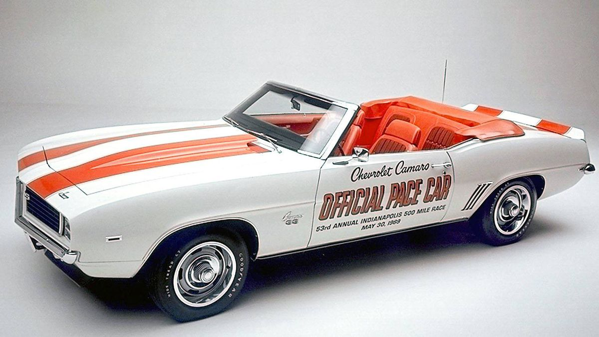 1969 Chevrolet Camaro. Providing a grand finale for the first-generation Camaro, the '69s included a Z28 model that ruled in Trans Am racing, and an Indy 500 Pace Car considered iconic today.