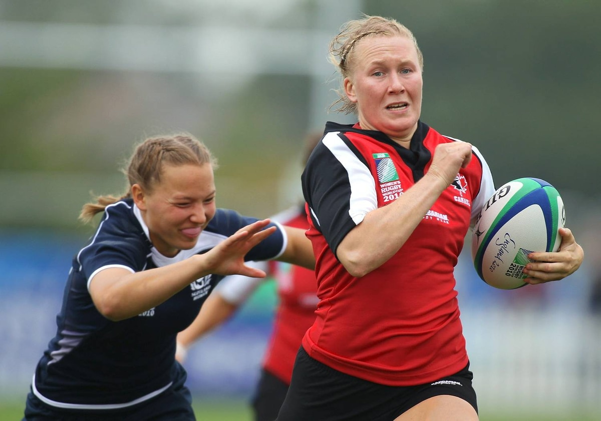 Canada v Scotland - IRB Women's Rugby World Cup Matchday One