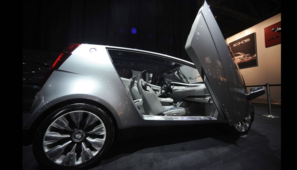 Cadillac Urban Luxury Concept vehicle at the media preview of the Canadian International Auto Show in Toronto.