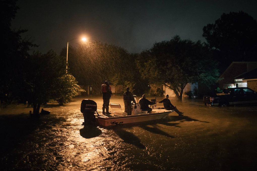 In photos: Catastrophic flooding hits Texas in wake of Harvey - The