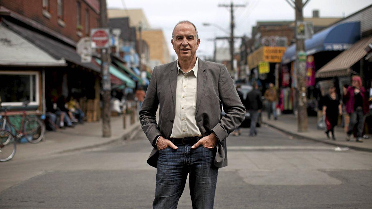 Ken Greenberg is photographed in Toronto's Kensington Market