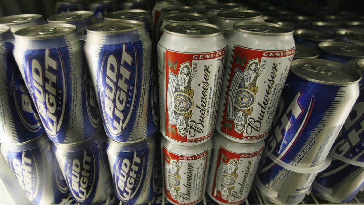 Anheuser-Busch InBev is pushing to increase sales of Budweiser in overseas markets.