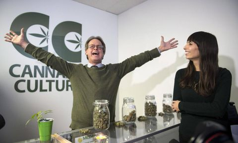 Illegal pot boutiques open in Montreal