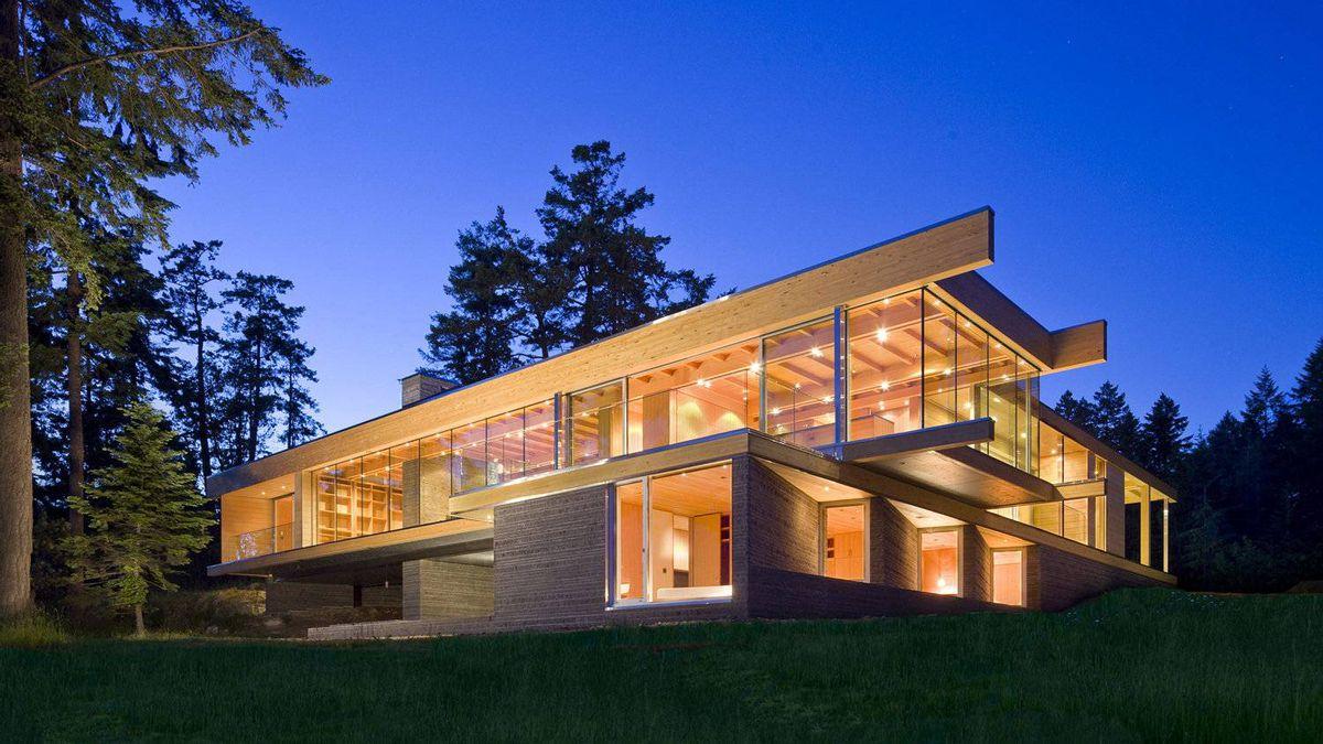 RUF architects Sean Pearson and Alyssa Schwann designed this Saltspring Island, B.C., residence.