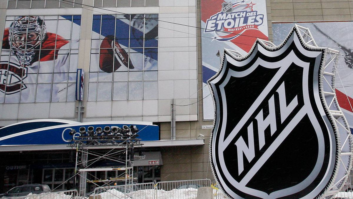 French language rights protesters plan to make their voices heard at a a Montreal Canadiens game at the Bell Centre on January 7th. (Photo by Richard Wolowicz/Getty Images)