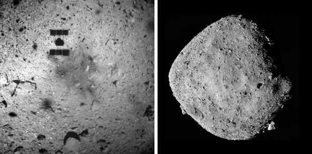 Asteroid sample mission unveils target site for daring touch-and-go attempt