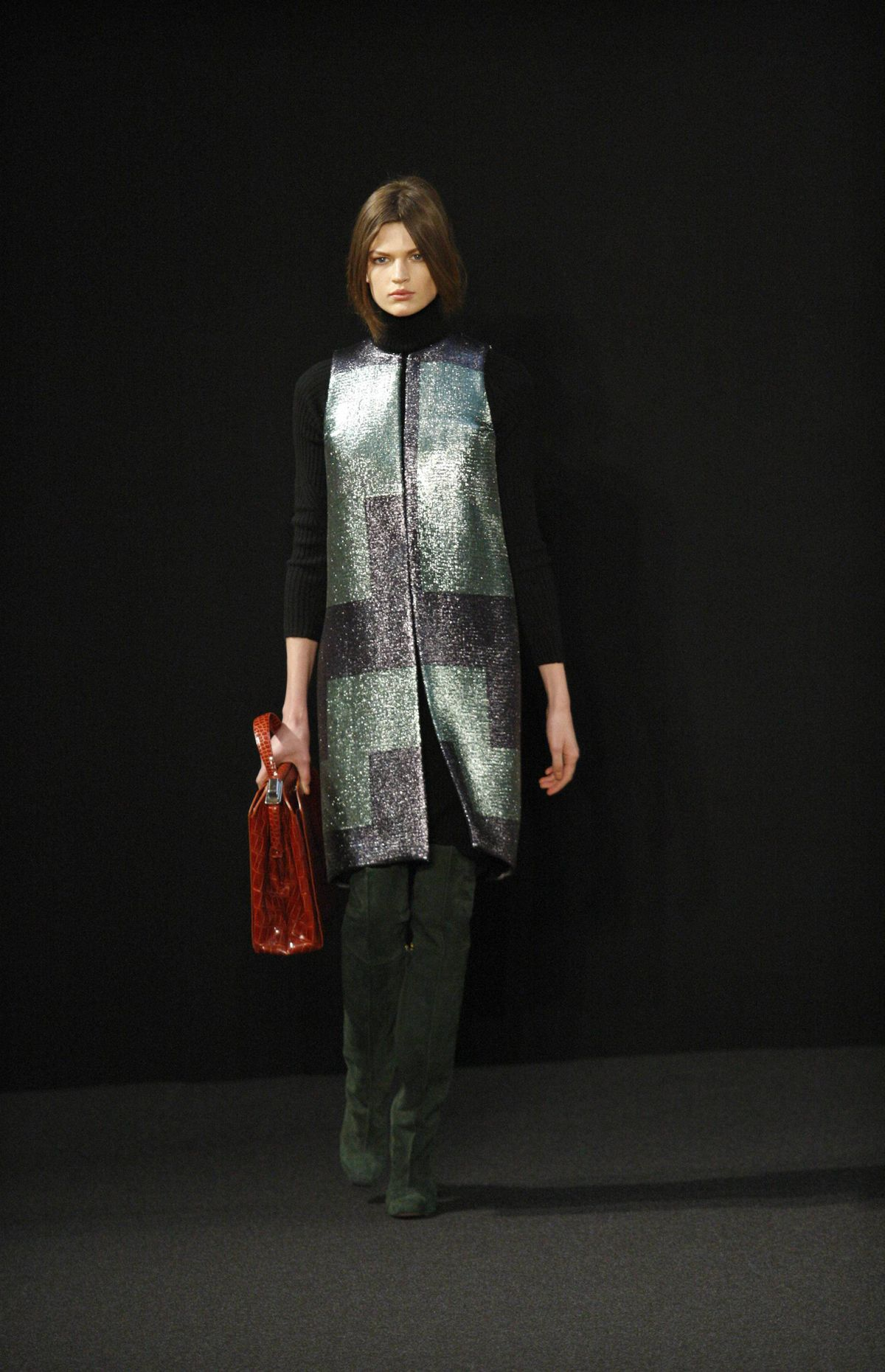 Ports 1961 interests me, not just for the Canadian connection (CEO and designer Fiona Cibani hails from Vancouver) but because the line is actually deceiving: While first impressions suggest restrained, up close, everything is highly decadent. For fall, Cibani was inspired by glass blowing techniques.