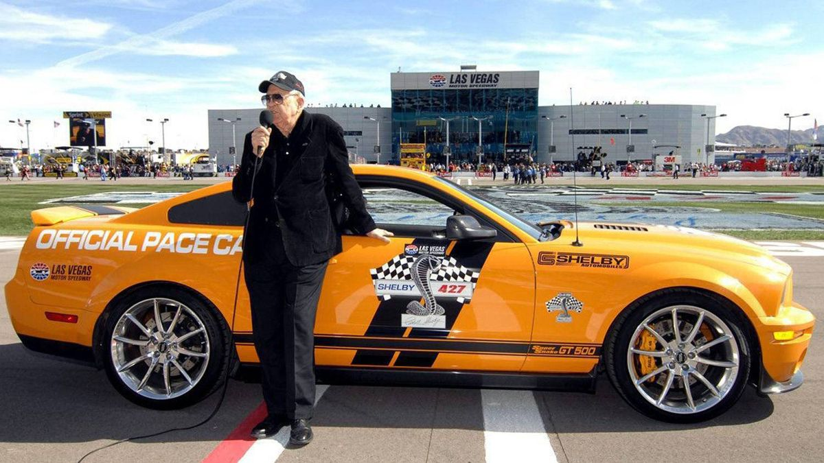 Shelby at the NASCAR Sprint Cup Series at the Las Vegas Motor Speedway in 2009.
