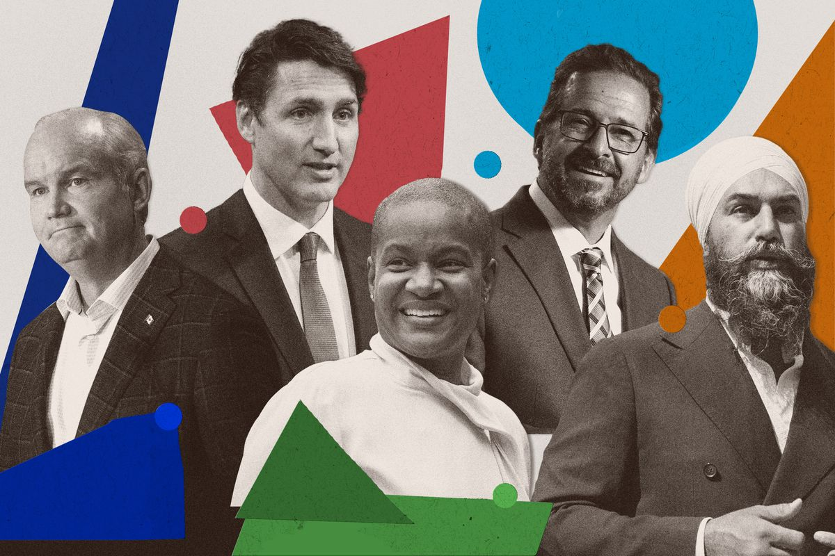 Federal party leaders of Canada