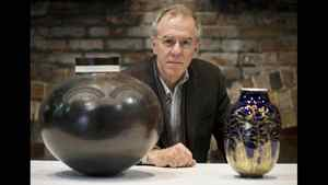 Daniel Amadei is a museum consultant and project director for the tentatively named Canada in the World Museum. The vases are from Nelson Mandela, left, and former French president Jacques Chirac.