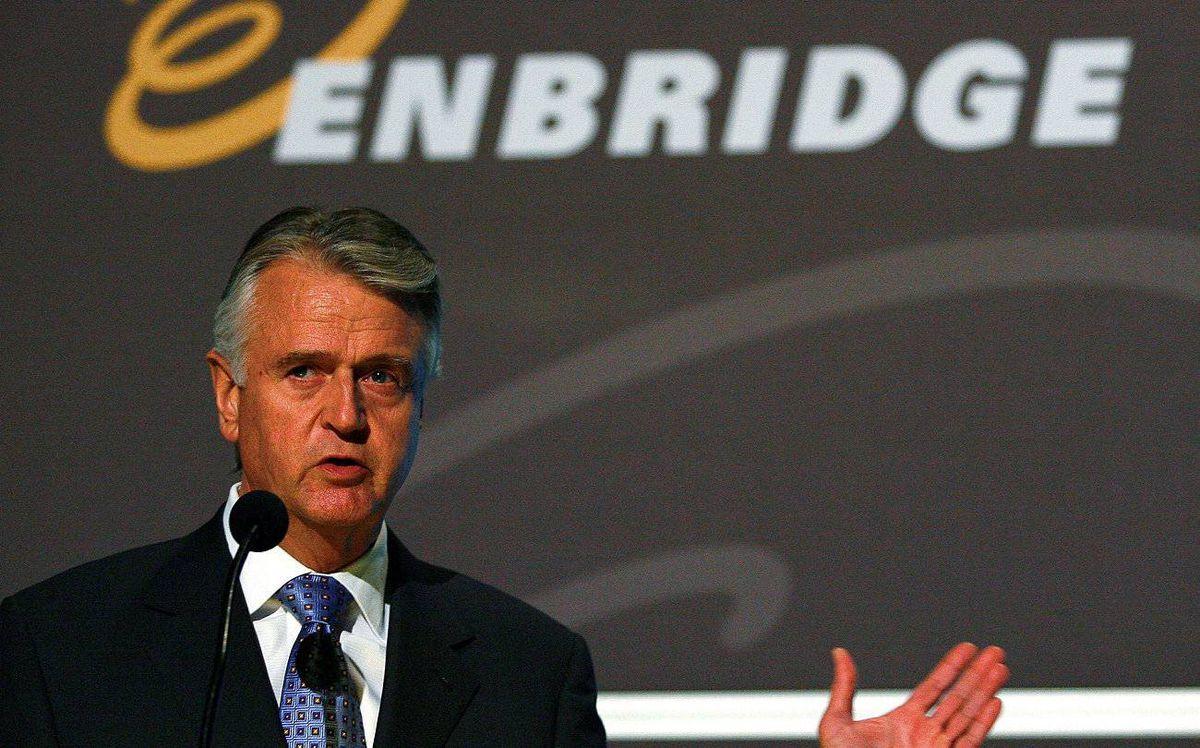 Enbridge president and CEO Pat Daniel