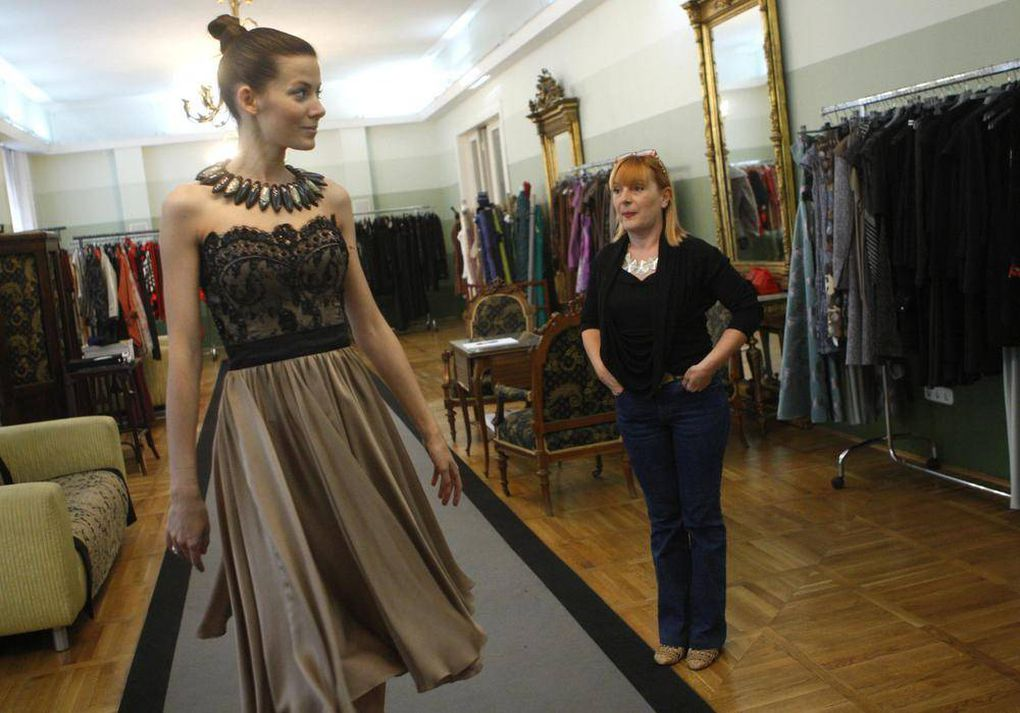 In Eastern Europe, clothing designers attract investors as