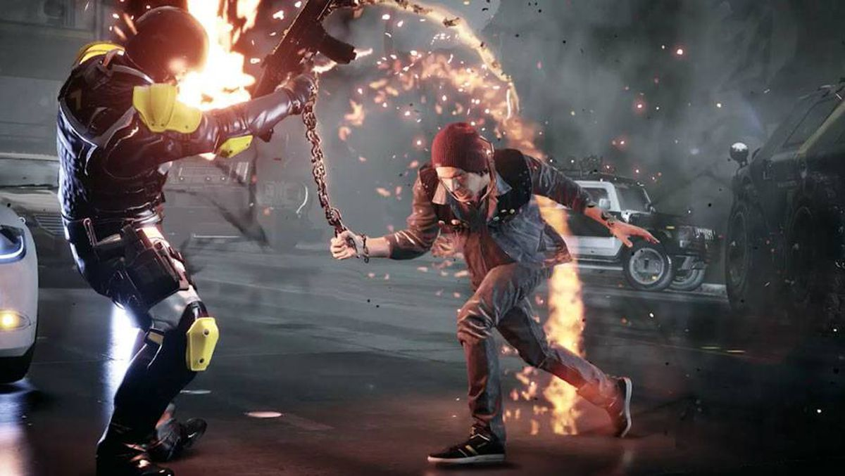 Review: 'Infamous: Second Son' relies too much on next-gen ... on infamous blast shard map, infamous second son queen anne map, infamous second son seattle flag, infamous second son district map, minecraft seattle map, infamous second son city map, infamous 2 map, seattle science center map, infamous second son game map,