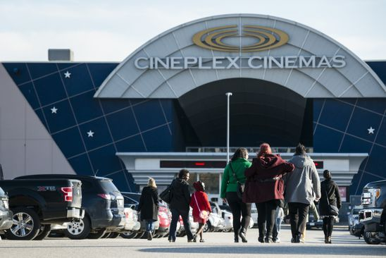 Cineplex earnings miss 'an anomaly,' CEO says as shares decline on third-quarter figures