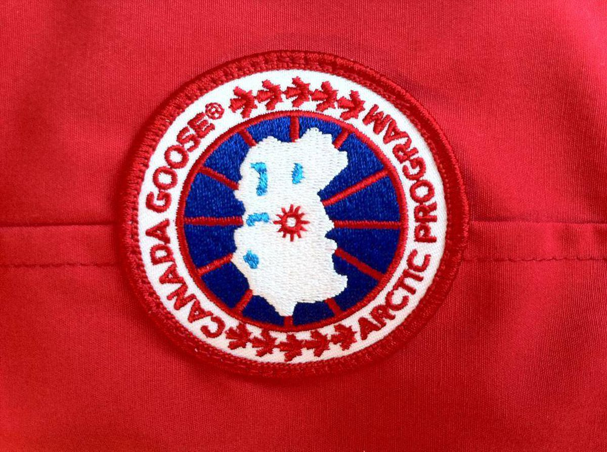 canada goose real badge