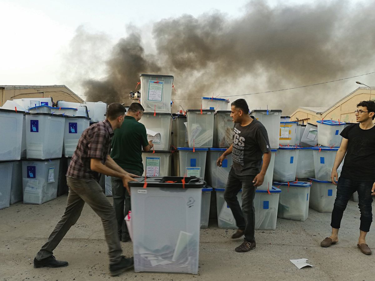 Iraq elections commissions prepares for partial recount