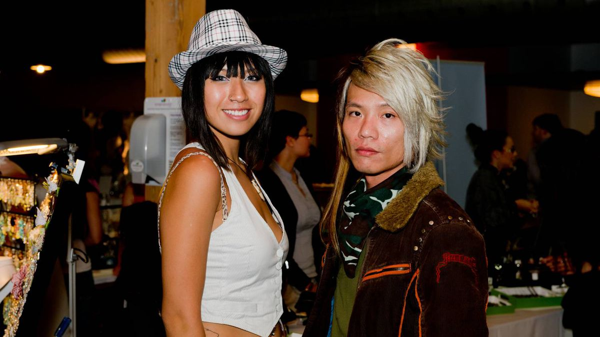 Pauline Lam and Stanley Choy
