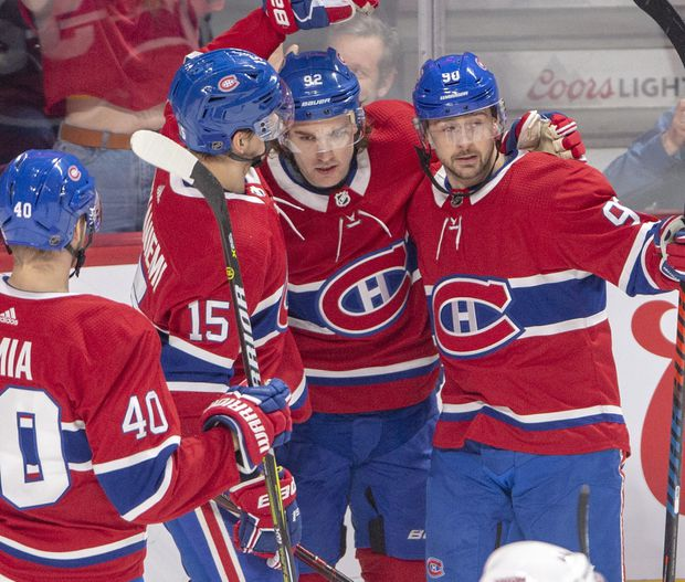 pretty nice b5f37 654e7 Positivity returns to Bell Centre as the Montreal Canadiens ...