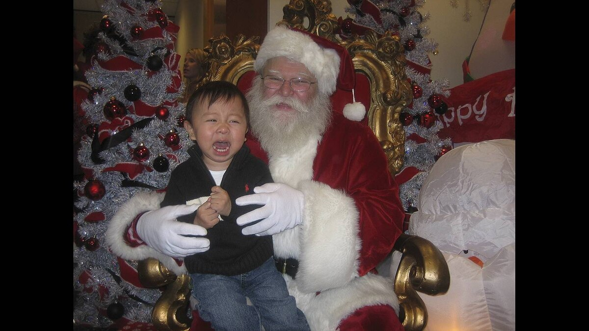 """""""tripping dude"""" on Flickr uploaded this image to our pool of Nathan and Santa"""