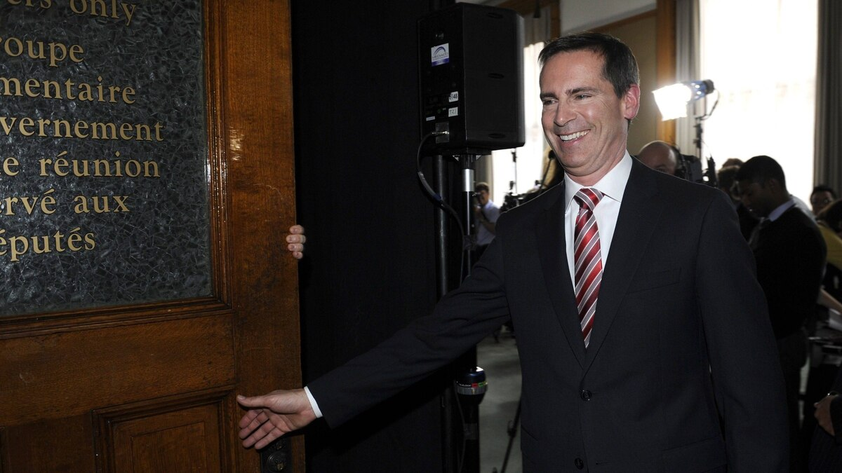 Ontario Premier Dalton McGuinty is photographed during a press conference at the provincial legislature or April 23 2012.
