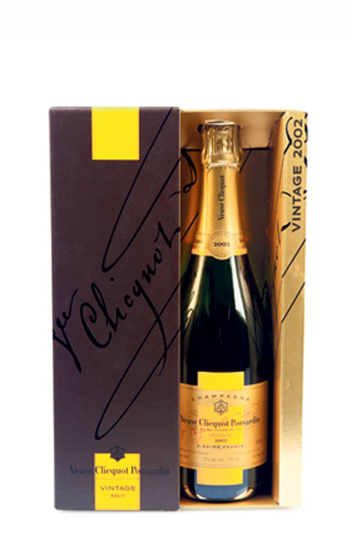 Vintage 2002 Veuve Clicquot Ponsardin Champagne, $90 at wine and liquor stores across Canada.
