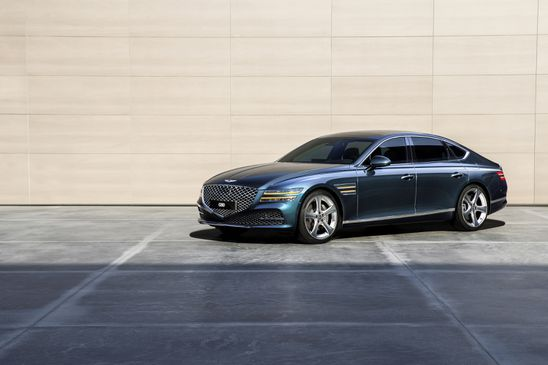 Genesis launches redesigned G80 mid-sized sedan