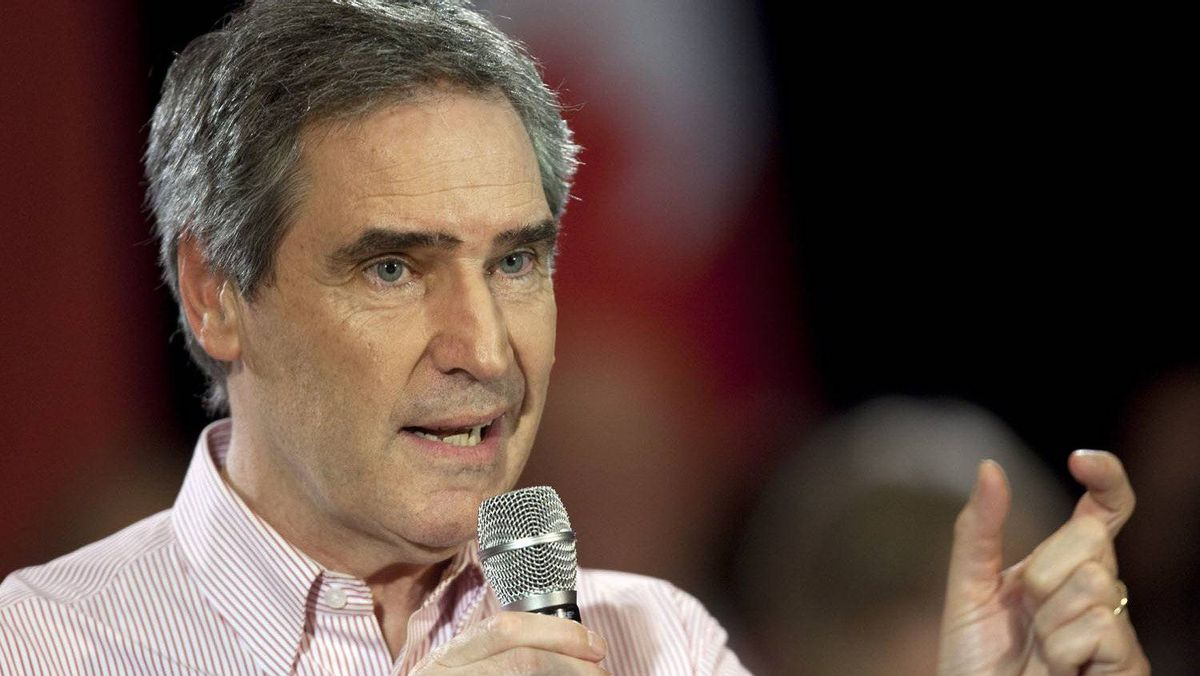 Liberal Leader Michael Ignatieff speaks at a town hall discussion during a campaign stop in London, Ont.