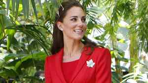 The Duchess of Cambridge tours the ENMAX Conservatory at the Calgary Zoo in Calgary, Friday July 8, 2011.