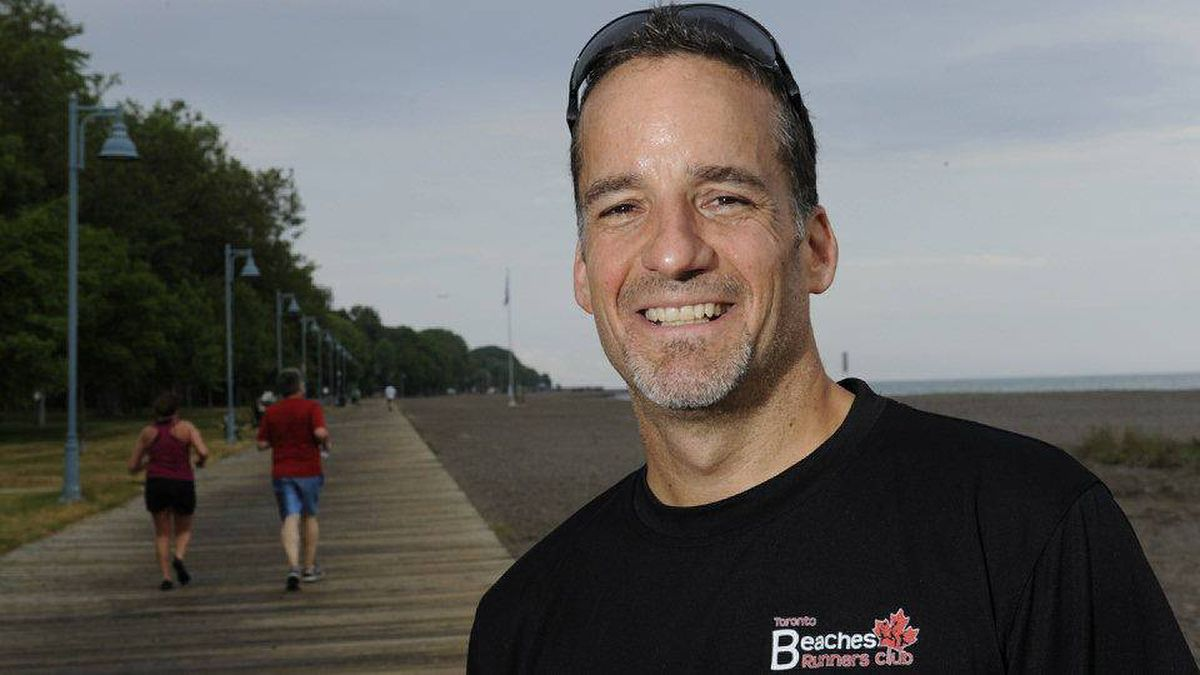 Dave Emilio is preparing for this fall's Scotiabank Toronto Waterfront Marathon