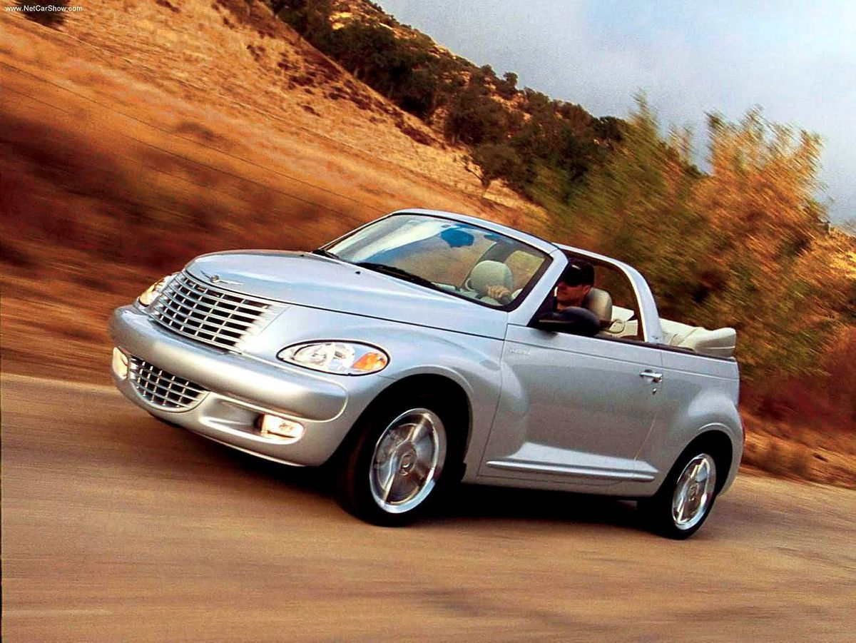 The body of the PT Cruiser Convertible was given extensive reinforcing.