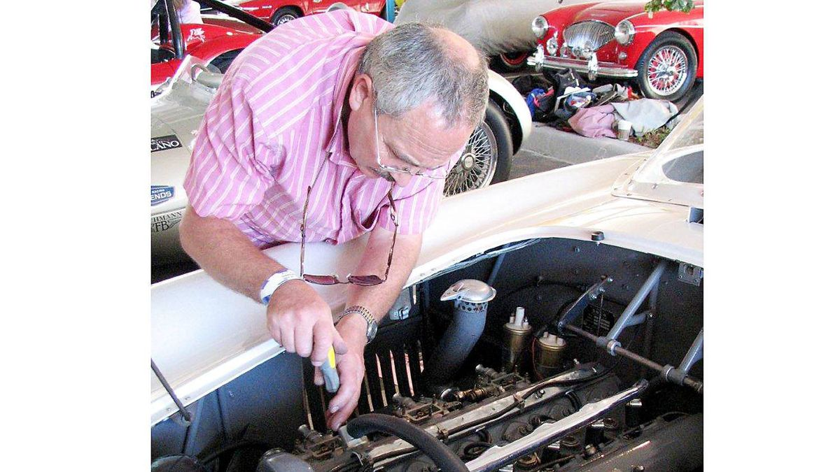 """Fettling temperamental racing engines requires a fine ear and a delicate touch and getting this OSCA's Weber carbs working in harmony so the engine would be """"on song"""" required both, plus a wealth of experience."""