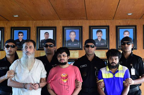 Bangladesh police arrest 3 men in bloggers' murders