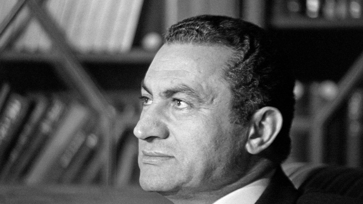 A picture dated November 24, 1982 shows Egyptian President Hosni Mubarak in Cairo. Mubarak stepped down on February 11, 2011 and handed power to the military. AFP PHOTO/PHILIPPE BOUCHON (Photo credit should read PHILIPPE BOUCHON/AFP/Getty Images)