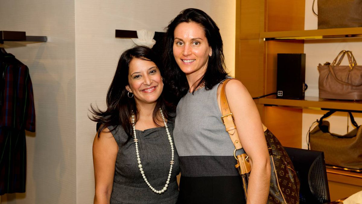 Shireen Nathoo (left) and Sara Petrcich