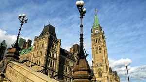 Parliament Hill, Oct. 18, 2011.