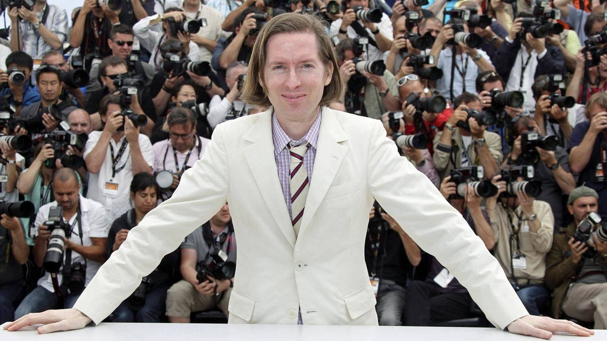 Director Wes Anderson poses during a photo call for Moonrise Kingdom at the Cannes film festival, May 16, 2012.