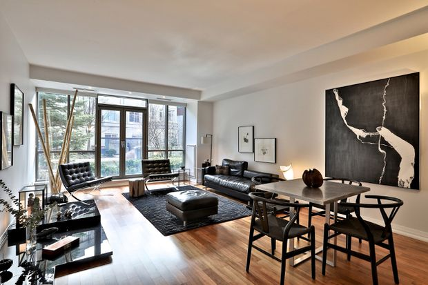 Street-level condo offers buyers a relatively affordable Yorkville address