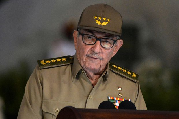 US Issues Travel Ban on Raul Castro